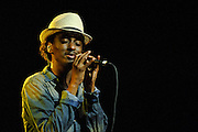 K'Naan performs on the Wave Your Flag Tour at Webster Hall, NYC. October 9, 2010. Copyright © 2010 Matt Eisman. All Rights Reserved.