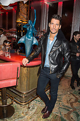 DAVID GANDY at the launch of the new Matchless Star Wars collection at Sexy Fish, Berkeley Square, London on 4th November 2015.