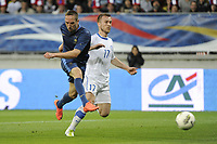 FOOTBALL - INTERNATIONAL FRIENDLY GAMES 2011/2012 - FRANCE v ESTONIA  - 5/06/2012 - PHOTO JEAN MARIE HERVIO / REGAMEDIA / DPPI - GOAL FRANCK RIBERY (FRA) / SANDER PURI (EST)