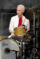 Rolling Stones drummer Charlie Watts dies aged 80 photo live at Twickenham 2018 photo by david court