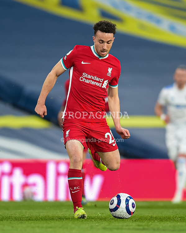 LEEDS, ENGLAND - Monday, April 19, 2021: Liverpool's Diogo Jota during the FA Premier League match between Leeds United FC and Liverpool FC at Elland Road. (Pic by Propaganda)