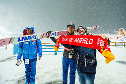 January 19, 2018 - Oberstdorf, GERMANY - 180119 Daniel-AndrŽ Tande of Norway after the second round of the individual competition during the FIS Ski Flying World Championships on January 19, 2018 in Oberstdorf..Photo: Vegard Wivestad GrÂ¿tt / BILDBYRN / kod VG / 170079 (Credit Image: © Vegard Wivestad Gr¯Tt/Bildbyran via ZUMA Wire)
