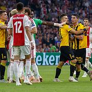 NLD/Amsterdam/20180919 - Ajax - AEK, ruzie op het veld