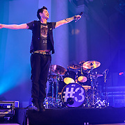 WASHINGTON, D.C. - November 7th, 2012 - Danny O'Donoghue and Glenn Power of The Script perform at DAR Constitution Hall in Washington, D.C.  The band's recently released third album, titled #3, reached number two in the UK charts and number 13 in the US Billboard 200. (Photo by Kyle Gustafson/ For The Washington Post)
