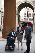 YINKA SHONIBARE; RON ARAD, Royal Academy Annual dinner, Piccadilly, London. 6 June 2016