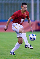 Rusmin Dedic of Rudar at 1st Round of Europe League football match between NK Rudar Velenje (Slovenia) and Trans Narva (Estonia), on July 9 2009, in Velenje, Slovenia. Rudar won 3:1 and qualified to 2nd Round. (Photo by Vid Ponikvar / Sportida)