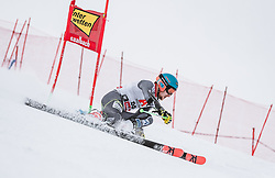19.12.2018, Saalbach Hinterglemm, AUT, FIS Weltcup Ski Alpin, Riesenslalom, Herren, 1. Lauf, im Bild Rasmus Windingstad (NOR) // Rasmus Windingstad of Norway in action during his 1st run of men's Giant Slalom of FIS ski alpine world cup. Saalbach Hinterglemm, Austria on 2018/12/19. EXPA Pictures © 2018, PhotoCredit: EXPA/ JFK