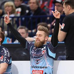 Hamburg, 26.12.16, Sport, Handball, Weltrekordspiel, 3. Liga Nord, Saison 2016/2017, Handball Sport Verein Hamburg - DHK Flensborg : Jubel / Torjubel bei Lasse Johannsen (DHK Flensborg, #24)<br /> <br /> Foto © PIX-Sportfotos *** Foto ist honorarpflichtig! *** Auf Anfrage in hoeherer Qualitaet/Aufloesung. Belegexemplar erbeten. Veroeffentlichung ausschliesslich fuer journalistisch-publizistische Zwecke. For editorial use only.