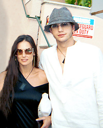 ©2003 RAMEY PHOTO 310-828-3445<br /> <br /> ASHTON KUTCHER AND DEMI MOORE APPEAR TO BE A HOT NEW COUPLE DISPLAYING SOME OBVIOUS PUBLIC DISPLAYS OF AFFECTION.  THEIR FRIEND P DIDDY WATCHES ON AS DOCTOR RUTH GIVES THE COUPLE SOME ADVICE ON INTIMACY.<br /> <br /> 53103<br /> <br /> WD (Mega Agency TagID: MEGAR66817_4.jpg) [Photo via Mega Agency]