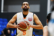 Taylor Hawks Everand Bartlett in action during a match against the Auckland Super City Rangers.<br /> Super City Rangers v Taylor Hawks, NBL NZ, Trusts Arena, Auckland, New Zealand. 7 July 2018. © Copyright Image: Marc Shannon / www.photosport.nz.