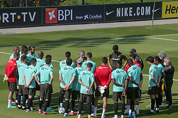 Fernando Santos at the lecture during a Portugal national football team training session for the preparation of Euro 2020 on May 27, 2021 in Oeiras, Portugal. Photo by Gerardo Santos/Global Imagens/Atlantico Press/ABACAPRESS.COM