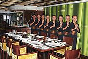 Asian Restaurant waitresses