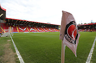The Valley Stadium before the Sky Bet Championship match between Charlton Athletic and Brighton and Hove Albion at The Valley, London, England on 23 April 2016.