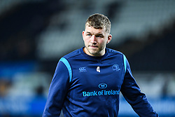 Leinster's Ross Molony during the pre match warm up<br /> <br /> Photographer Craig Thomas/Replay Images<br /> <br /> Guinness PRO14 Round 18 - Ospreys v Leinster - Saturday 24th March 2018 - Liberty Stadium - Swansea<br /> <br /> World Copyright © Replay Images . All rights reserved. info@replayimages.co.uk - http://replayimages.co.uk