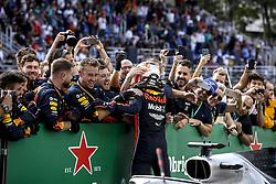 November 17, 2019, Sao Paulo, Brazil: Motorsports: FIA Formula One World Championship 2019, Grand Prix of Brazil, . #33 Max Verstappen (NLD, Aston Martin Red Bull Racing) (Credit Image: © Hoch Zwei via ZUMA Wire)
