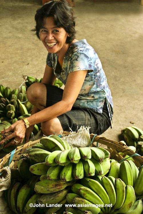 Green Bananas at Tabgilaran Market