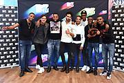 Bekendmaking van de genomineerden voor een MTV EMA Best Dutch Act.<br /> <br /> Op de foto:  Genomineerden MTV EMA Best Dutch Act: Ronnie Flex, Broederliefde en Julian Jordan met Kay Nambiar