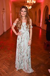 Gemma Oaten at the Floral Ball in aid of Sheba Medical Center hosted by Laura Pradelska and Zoe Hardman and held at One Marylebone, 1 Marylebone Road, London England. 14 March 2017.