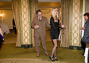 VIC REEVES; NANCY SORRELL, South Bank Show Awards, Dorchester Hotel, Park Lane. London. 20 January 2009 *** Local Caption *** -DO NOT ARCHIVE-© Copyright Photograph by Dafydd Jones. 248 Clapham Rd. London SW9 0PZ. Tel 0207 820 0771. www.dafjones.com.<br /> VIC REEVES; NANCY SORRELL, South Bank Show Awards, Dorchester Hotel, Park Lane. London. 20 January 2009