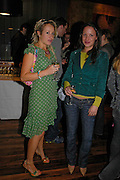 Tamsin Lonsdale and Tina Ferguson. Pengelley's opening. 164 Sloane St. London SW1. 22 February 2005. . ONE TIME USE ONLY - DO NOT ARCHIVE  © Copyright Photograph by Dafydd Jones 66 Stockwell Park Rd. London SW9 0DA Tel 020 7733 0108 www.dafjones.com