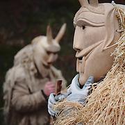 Preparations for the Shrovetide parade