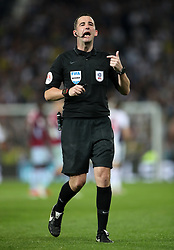 Referee Chris Kavanagh during the Sky Bet Championship, Play-Off, Second Leg match at The Hawthorns, West Bromwich.
