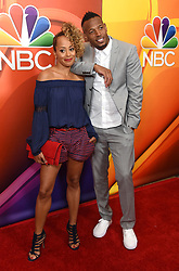 NBC TCA Summer Press Tour 2017 held at the Beverly Hilton Hotel. 03 Aug 2017 Pictured: Essence Atkins and Marlon Wayans. Photo credit: AFF-USA.com / MEGA TheMegaAgency.com +1 888 505 6342