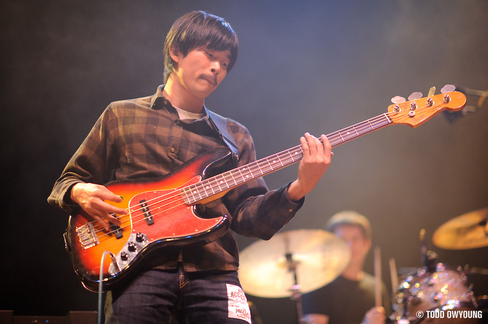 Japanese indie rock band Ogre You Asshole performs on November 20, 2010 at the Pageant in St. Louis, Missouri