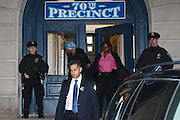 Perp walk, March 12, 2015, in New York, NY.<br /> <br /> Photograph by Andrew Hinderaker