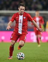 Fotball<br /> Tyskland v Polen<br /> 13.05.2014<br /> Foto: Witters/Digitalsport<br /> NORWAY ONLY<br /> <br /> Maciej Rybus (Polen)<br /> Fussball, Testspiel, Deutschland - Polen 0:0