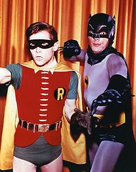 January 1, 1970 - No Merchandising. Editorial Use Only. No Book Cover Usage.....Burt Ward, Adam West..Batman..20th Century Fox/Greenway..USA..Television..Batman (Télévision) (Credit Image: © Fox/Rex Shutterstock via ZUMA Press)