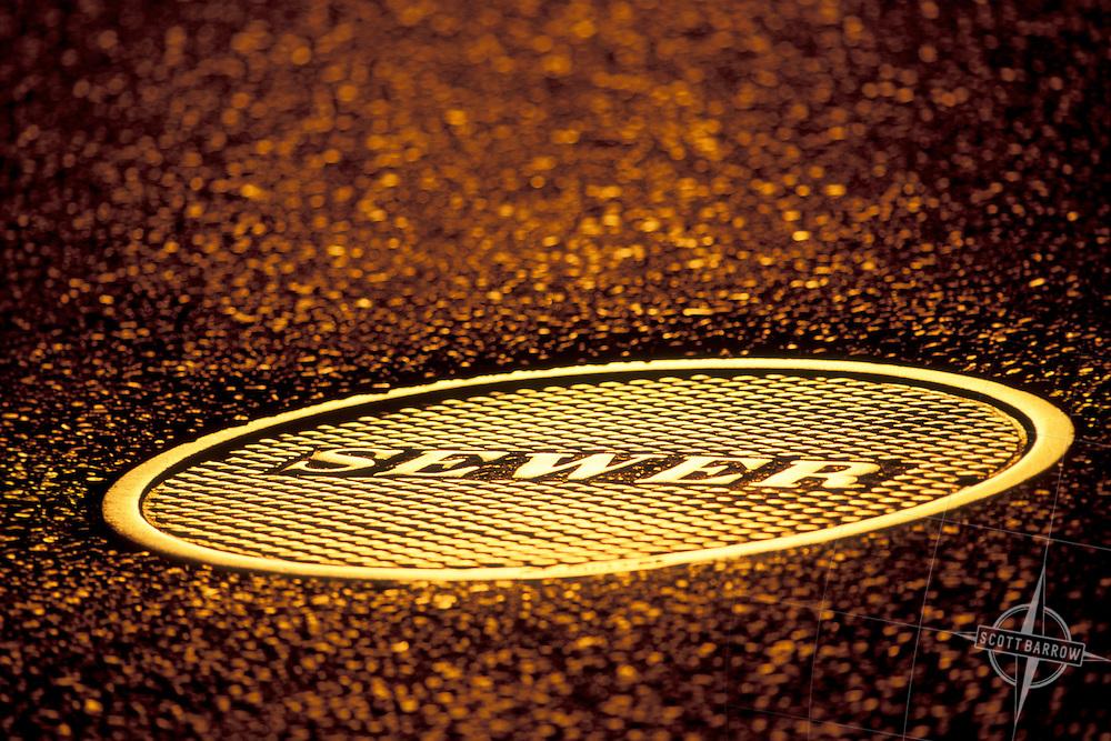 Sewer Cover, NY, NY