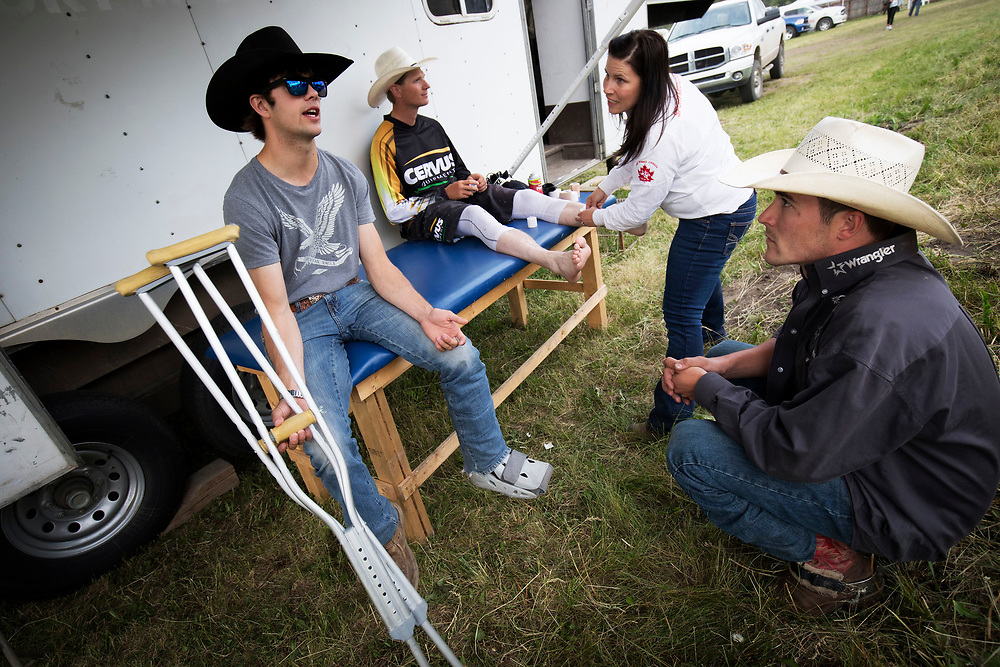 during the Daines Rodeo in Innisfail, Alberta, Saturday, June 17, 2017.Todd Korol/The Globe and Mail