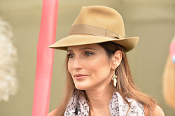 ASTRID NOVILLO ASTRADA at the Cartier Queen's Cup Final 2016 held at Guards Polo Club, Smiths Lawn, Windsor Great Park, Egham, Surrey on 11th June 2016.
