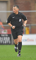 Referee Mark Haywood<br /> <br /> Photographer Dave Howarth/CameraSport<br /> <br /> The EFL Sky Bet League One - Fleetwood Town v Coventry Town - Saturday 3 September 2016 - Highbury Stadium - Fleetwood<br /> <br /> World Copyright © 2016 CameraSport. All rights reserved. 43 Linden Ave. Countesthorpe. Leicester. England. LE8 5PG - Tel: +44 (0) 116 277 4147 - admin@camerasport.com - www.camerasport.com