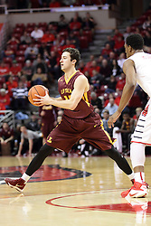 06 January 2016: Ben Richardson(14) during the Illinois State Redbirds v Loyola-Chicago Ramblers at Redbird Arena in Normal Illinois (Photo by Alan Look)
