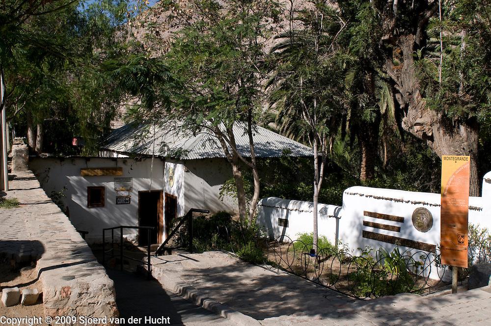 Montegrande, in the southeast of Vicuña, the Casa Escuela Gabriella Mistral (real name Lucila Godoy Alcayaga), Chile