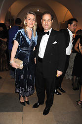 VISCOUNT & VISCOUNTESS CHELSEA at Chaos Point - a fashion show from Viienne Westwood's Gold Label Collection in aid of the NSPCC at The Banqueting House, London SW1 on 18th November 2008.