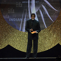 SHEFFIELD, UNITED KINGDOM - 9th June 2007: Bollywood legend Amitabh  Bachchan at International Indian Film Academy Awards (IIFAs) at the Sheffield Hallam Arena on June 9, 2007 in Sheffield, England.