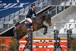 Lamers Ruben, NED, Bachelor van't Hulgenrode Z<br /> Pavo Hengsten competitie - Oudsbergen 2021<br /> © Hippo Foto - Dirk Caremans<br />  22/02/2021