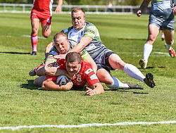 West Wales Raiders v Doncaster RLFC<br /> <br /> Photographer Craig Thomas/Replay Images<br /> <br /> <br /> Betfred League 1 - West Wales Raiders v Doncaster RLFC  - Sunday 13th May 2018 - Stebonheath Park - Llanelli<br /> <br /> World Copyright © 2017 Replay Images. All rights reserved. info@replayimages.co.uk - www.replayimages.co.uk