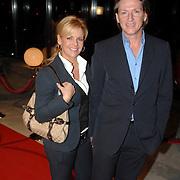 NLD/Hilversum/20061201 - Opening Nederlands Instituut voor Beeld en Geluid, Eric de Zwart en partner Marika van den Brink