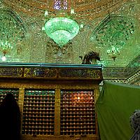 Women praying at a shrine in Yazd.