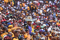 South Africa: Gauteng: Kaizer Chiefs followers come in large numbers to support their team when they play against Orlando Pirates during the Soweto Derby for the Absa premiership at FNB stadium, Gauteng.<br />Picture: Itumeleng English/African News Agency (ANA)