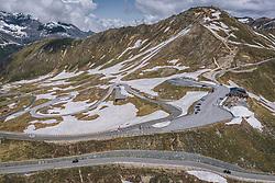 THEMENBILD - Edelweissspitze, Berggasthof Fuschertörl und die Serpentinen der Strasse inmitten der Bergwelt der Hohen Tauern. Die Hochalpenstrasse verbindet die beiden Bundeslaender Salzburg und Kaernten und ist als Erlebnisstrasse vorrangig von touristischer Bedeutung, aufgenommen am 11. Juni 2020 in Fusch a.d. Glstr., Österreich // Edelweissspitze, Berggasthof Fuschertörl and the serpentines of the road and mountain scenery of the Hohe Tauern. The High Alpine Road connects the two provinces of Salzburg and Carinthia and is as an adventure road priority of tourist interest, Fusch a.d. Glstr., Austria on 2020/06/11. EXPA Pictures © 2020, PhotoCredit: EXPA/ JFK