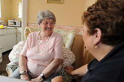 Council Homecare Staff enable elderly and disabled people to live in their own homes; through support and help with household chores etc; Bradford