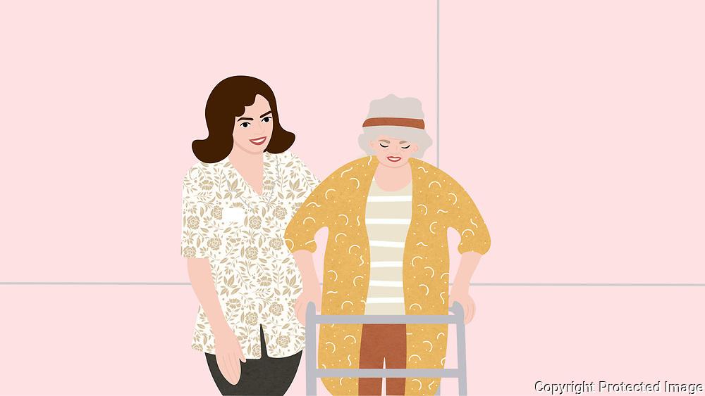 Caretaker and Senior Woman