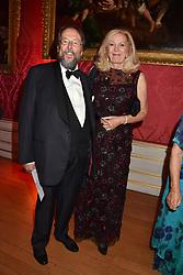 The Earl & Countess of Stockton at the Tusk Ball at Kensington Palace, London, England. 09 May 2019.