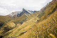 Jagged peak in Mt. Aspiring National Park, South Island, New Zealand