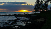 Sunset, Poipu, Kauai, Hawaii